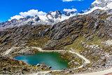 lake Huaraz National Park Huascaran Andes Peru