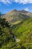 andean valley Cuzco Peru
