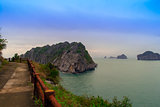 Paths on Cat Ba Island.