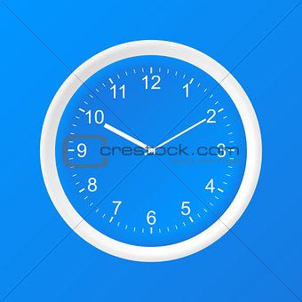 Clock 3D Paper Icon
