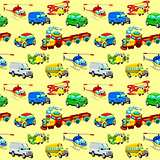 Funny vehicles with background.