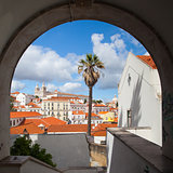 Famous Sao Vicente de Fora Monastery in Lisbon