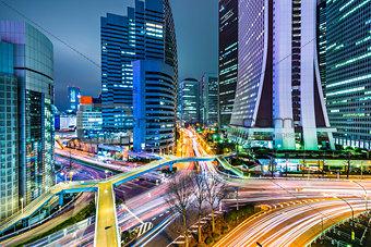 Tokyo Japan at West Shinjuku