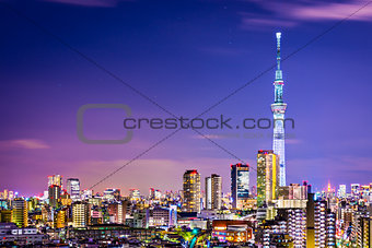 Tokyo Cityscape with Skytree