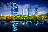 Osaka, Japan Business Park