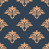 Dainty retro floral seamless pattern