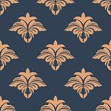 Dainty retro floral seamless pattern