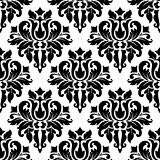 Floral seamless damask pattern