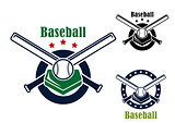 Baseball emblems and symbols