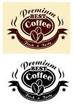Premium coffee banner