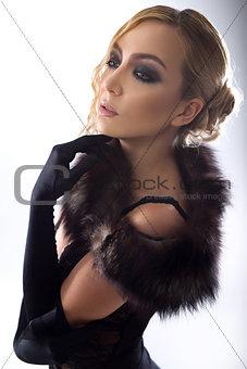 Beautiful female body
