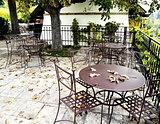 Abandoned garden tavern