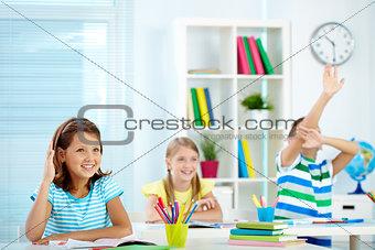 Smart schoolmates