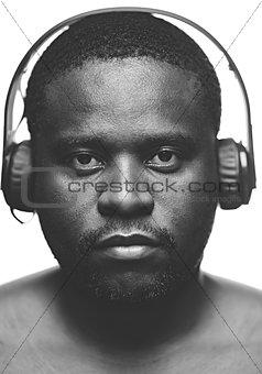 Serious listener