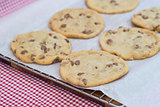 Beautiful fresh hand made chocolate chip cookies