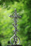 iron cross grave