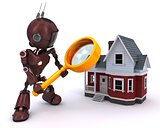 Android searching for a house