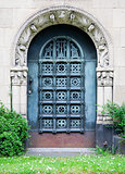 Grave door