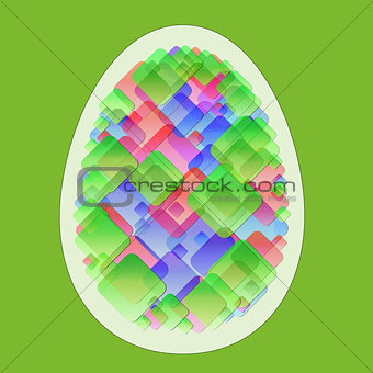 Abstract egg