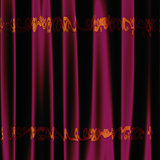 Decorative pink fabric