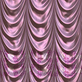 Pink curtain background