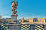 Rome - Sant'Angelo's bridge