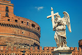 Rome - Angel and SantAngelo Castle