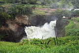 above Murchison Falls in Uganda
