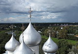 dome of St. Sophia Cathedral in Vologda