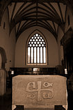 alter in the chapel of Holycross abbey