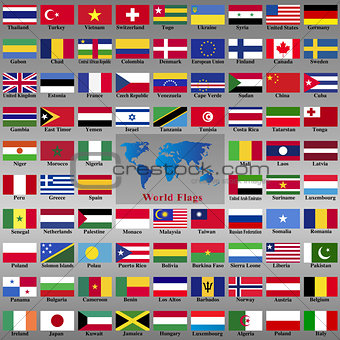 Flags from world.