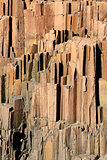 """The Organ Pipes"", a geological formation of volcanic rocks"