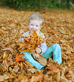kid at fall