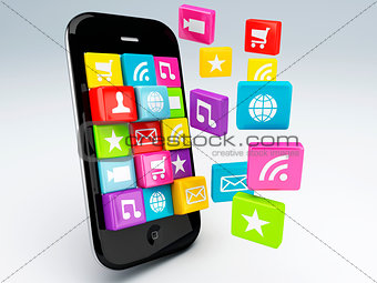 3d mobile phone app wifi