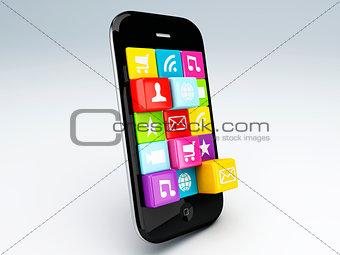 3d mobile phone app wifi