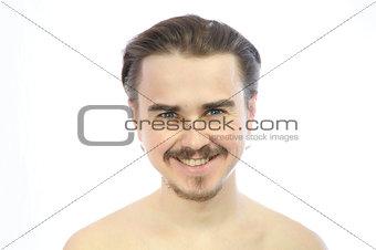 predatory man looking