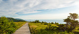 Panorama of Skyline Trail boardwalk