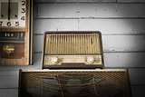 Vintage Radio player