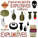 Military and industrial explosives