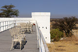 Namutoni Fort, entrance to Etosha National Park