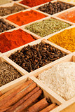 Spices variation.