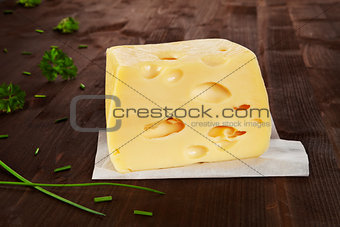 Big cheese. Emmentaler.