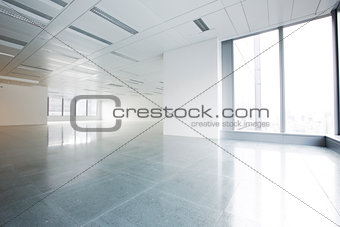 Bright office interior