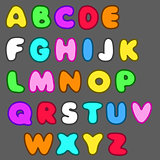 cartoon font3