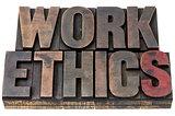 work ethics  in wood type