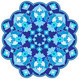 Ottoman motifs design series with fifteen version