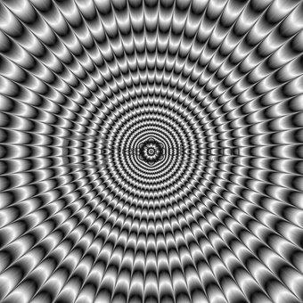Circular Explosion in Silver