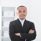 Asian Muslim business man
