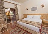 Bedroom in luxury hotel