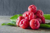 ripe rose apple